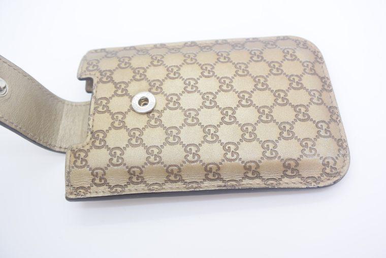 Gucci Handyetui beige gold-11891