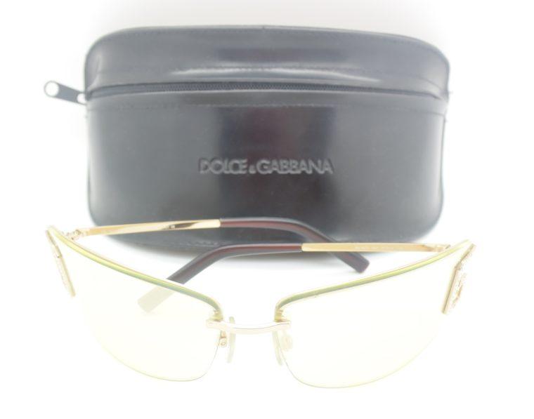 Dolce & Gabbana Sonnenbrille D&G silber inklusive Etui-11993