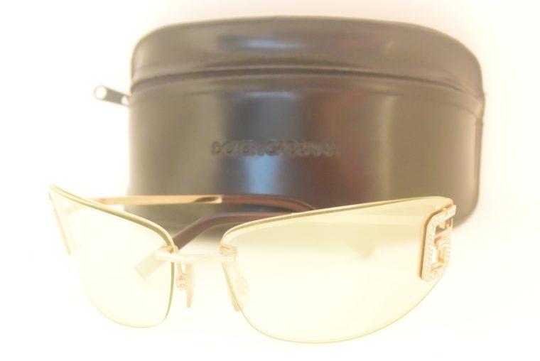Dolce & Gabbana Sonnenbrille D&G silber inklusive Etui-11994