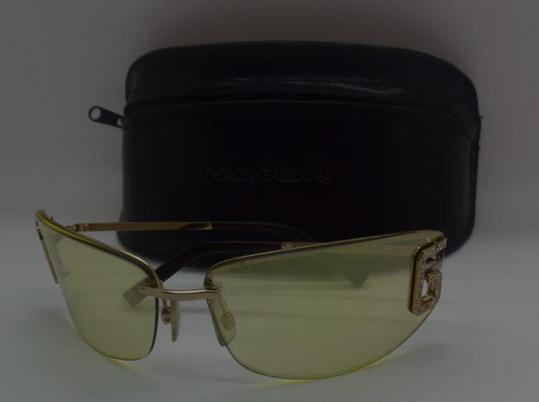 Dolce & Gabbana Sonnenbrille D&G silber inklusive Etui-11995