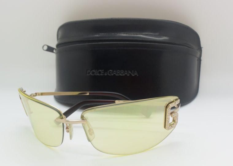 Dolce & Gabbana Sonnenbrille D&G silber inklusive Etui-11996