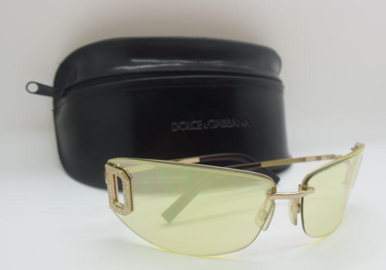 Dolce & Gabbana Sonnenbrille D&G silber inklusive Etui-0