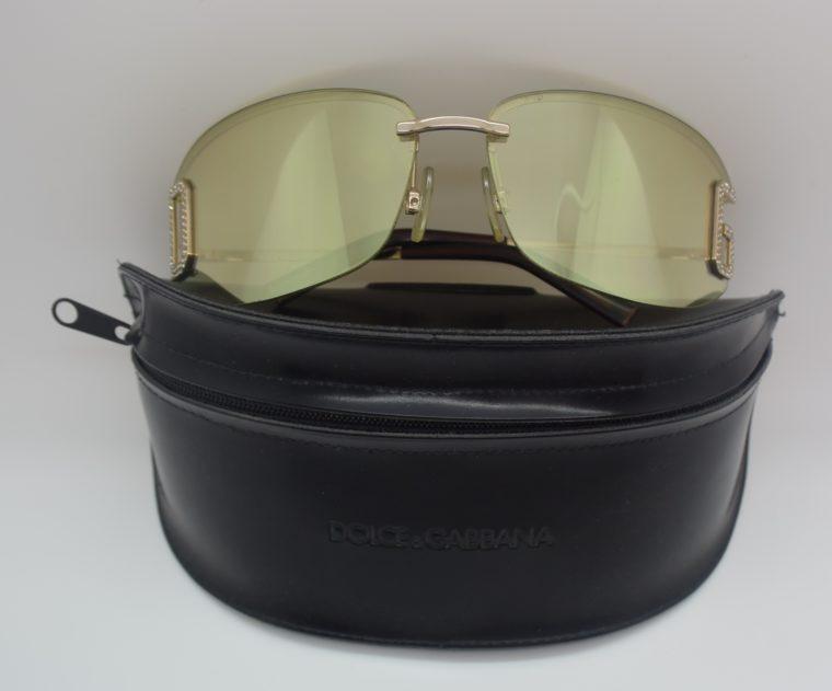 Dolce & Gabbana Sonnenbrille D&G silber inklusive Etui-11998
