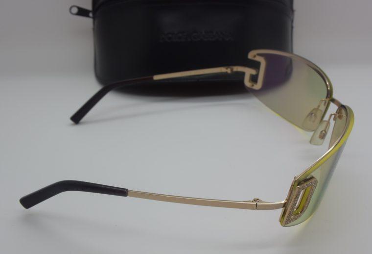 Dolce & Gabbana Sonnenbrille D&G silber inklusive Etui-11999