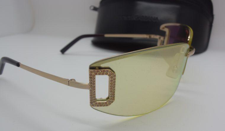 Dolce & Gabbana Sonnenbrille D&G silber inklusive Etui-12000