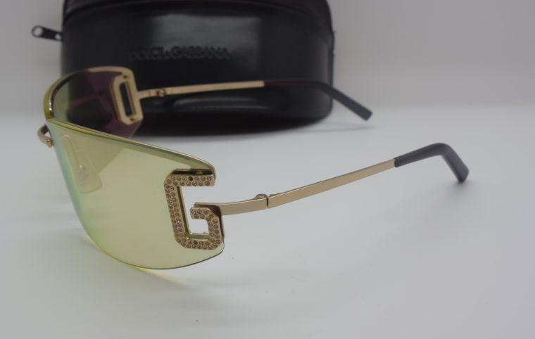 Dolce & Gabbana Sonnenbrille D&G silber inklusive Etui-12002