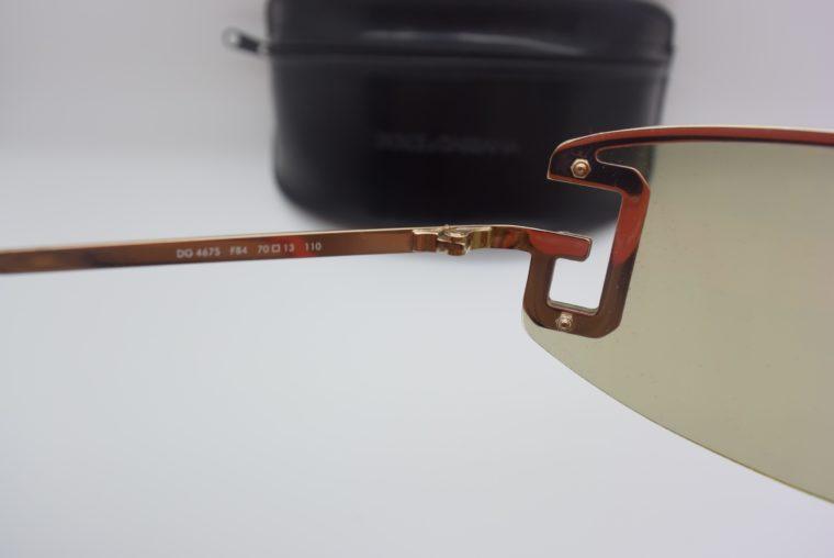 Dolce & Gabbana Sonnenbrille D&G silber inklusive Etui-12004