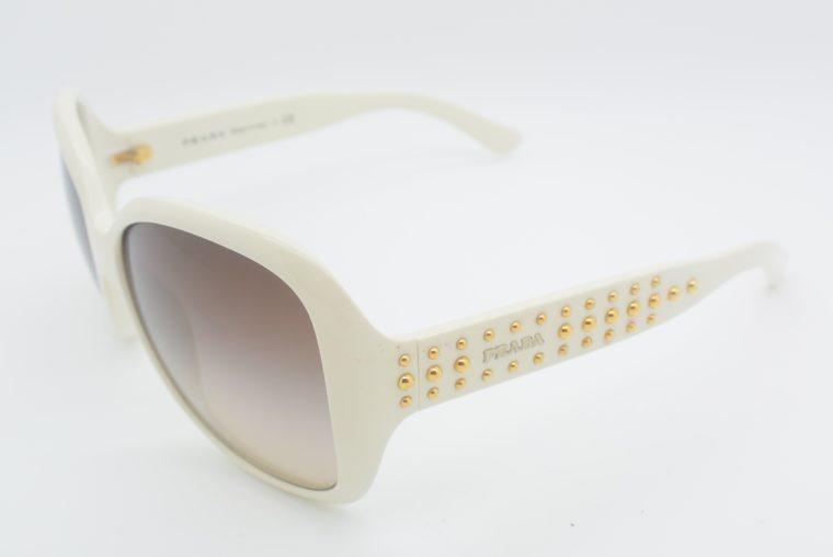 Prada Sonnebrille weiss-12020