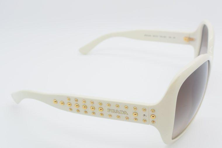 Prada Sonnebrille weiss-12023