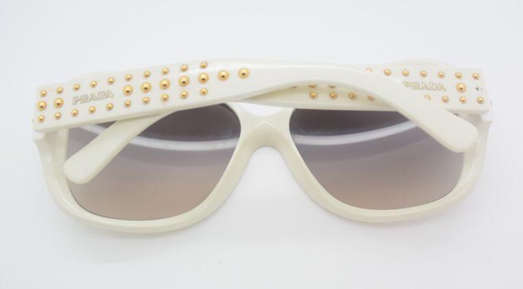 Prada Sonnebrille weiss-12028