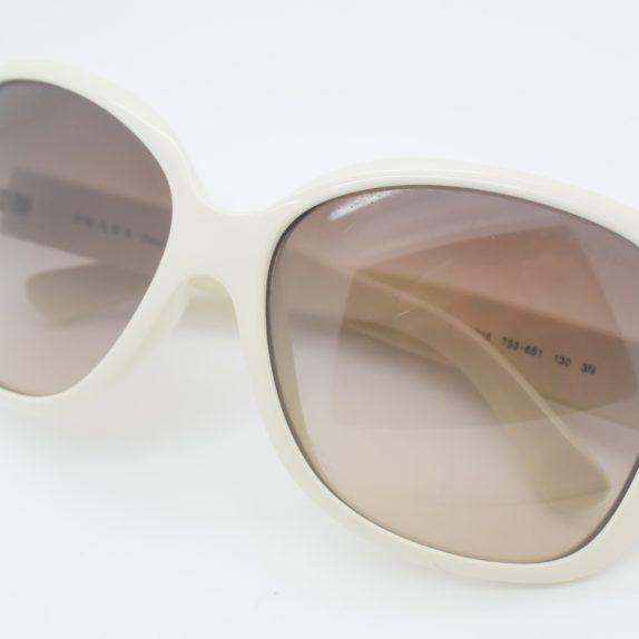 Prada Sonnebrille weiss