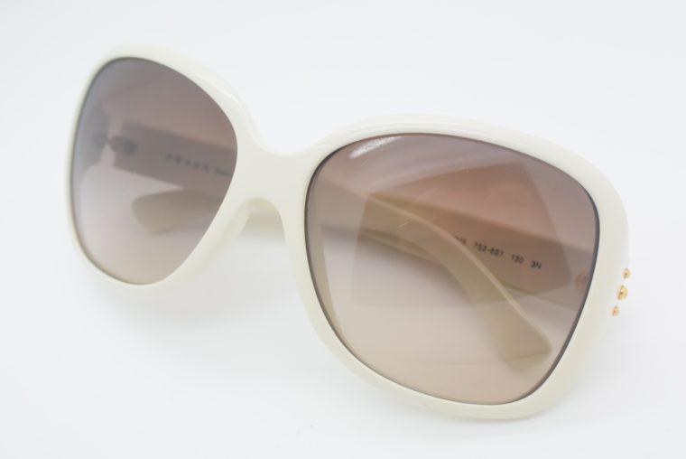 Prada Sonnebrille weiss-0