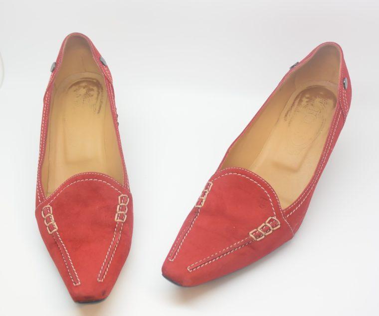 Tods Schuhe Pumps rot 37-12101