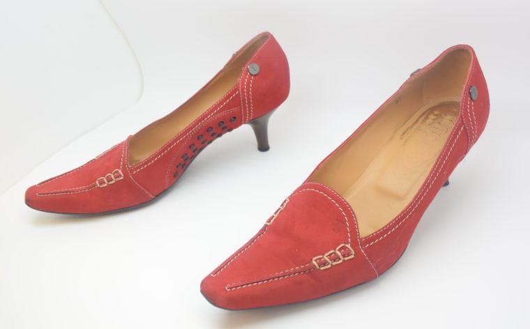 Tods Schuhe Pumps rot 37-12099