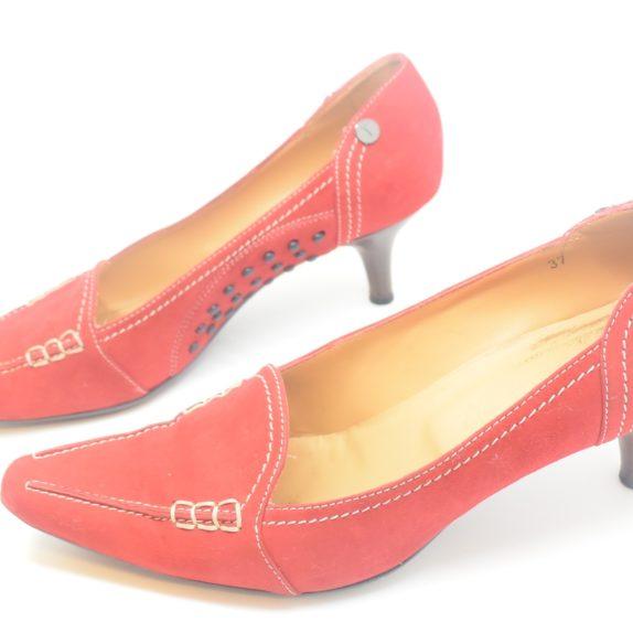 Tods Schuhe Pumps rot 37