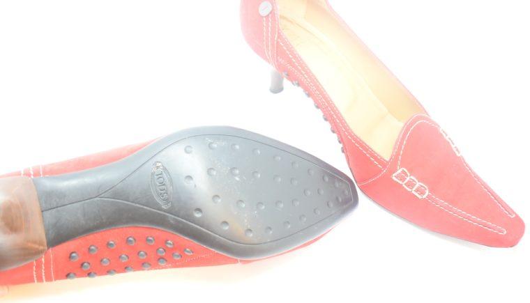 Tods Schuhe Pumps rot 37-12103