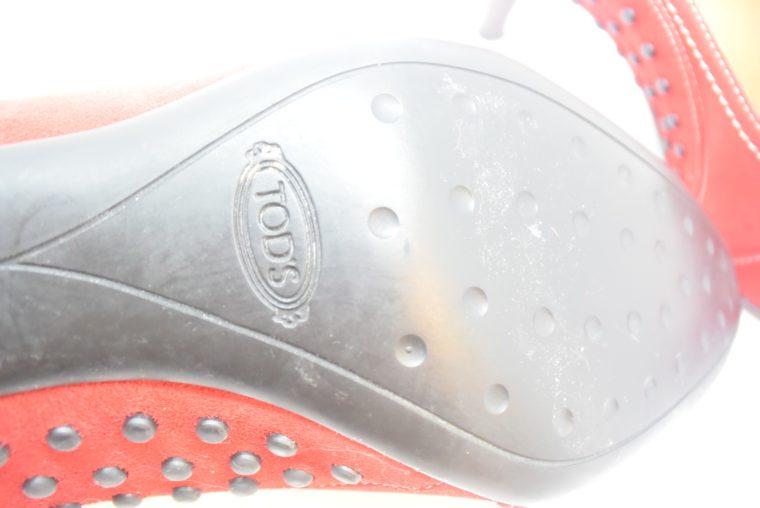 Tods Schuhe Pumps rot 37-12106
