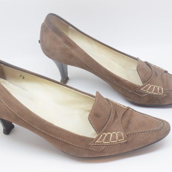Tods Schuhe Pumps braun 37