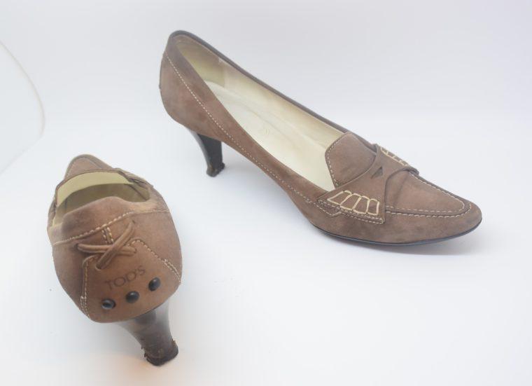 Tods Schuhe Pumps braun 37-12109