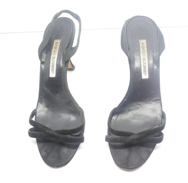 Manolo Blahnik Schuhe Pumps schwarz 37-12405