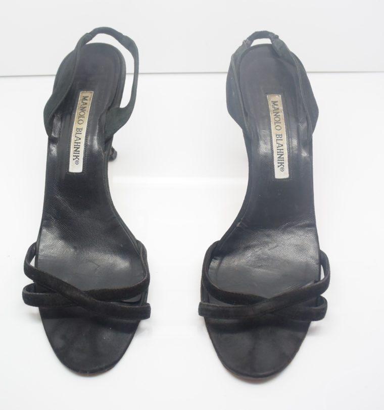 Manolo Blahnik Schuhe Pumps schwarz 37-12406