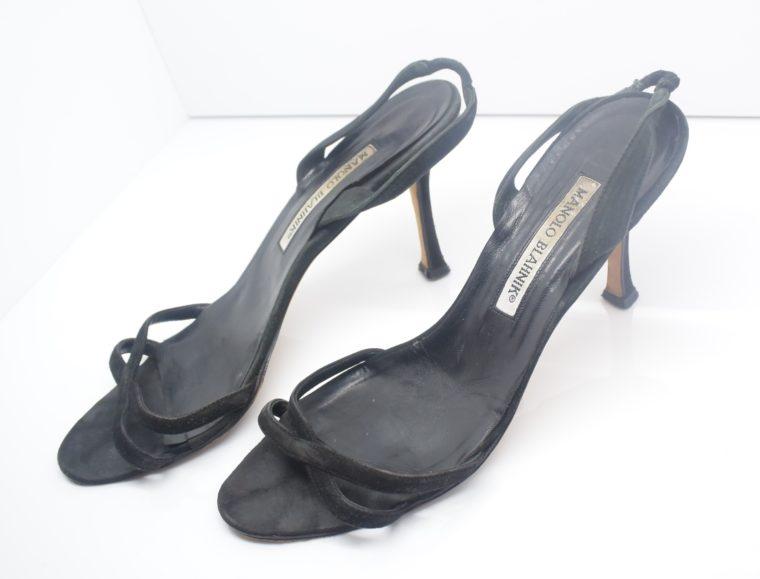 Manolo Blahnik Schuhe Pumps schwarz 37-12409