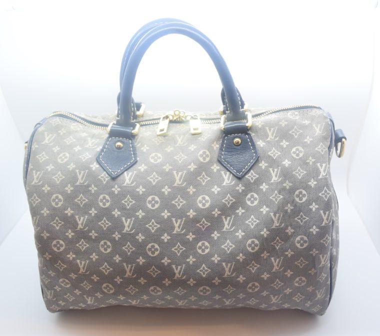 Louis Vuitton Tasche Speedy 30 Idylle blau-12367