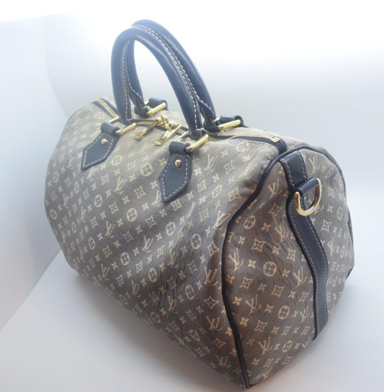 Louis Vuitton Tasche Speedy 30 Idylle blau-0