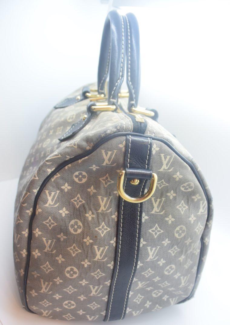 Louis Vuitton Tasche Speedy 30 Idylle blau-12366