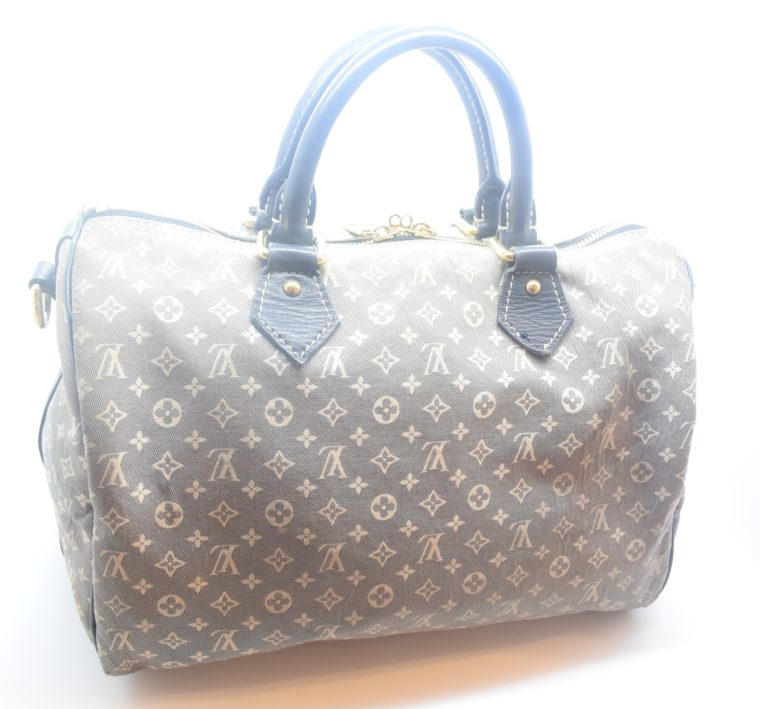 Louis Vuitton Tasche Speedy 30 Idylle blau-12369
