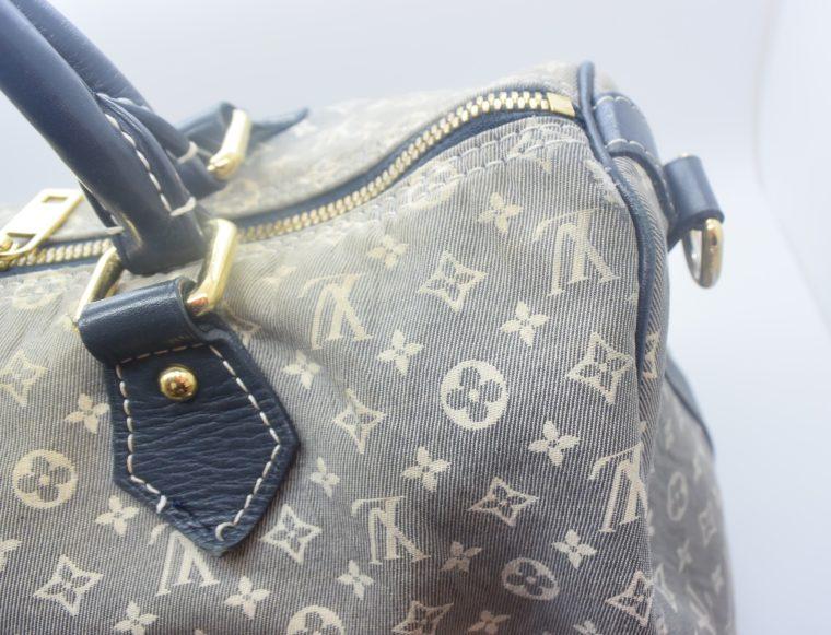 Louis Vuitton Tasche Speedy 30 Idylle blau-12370