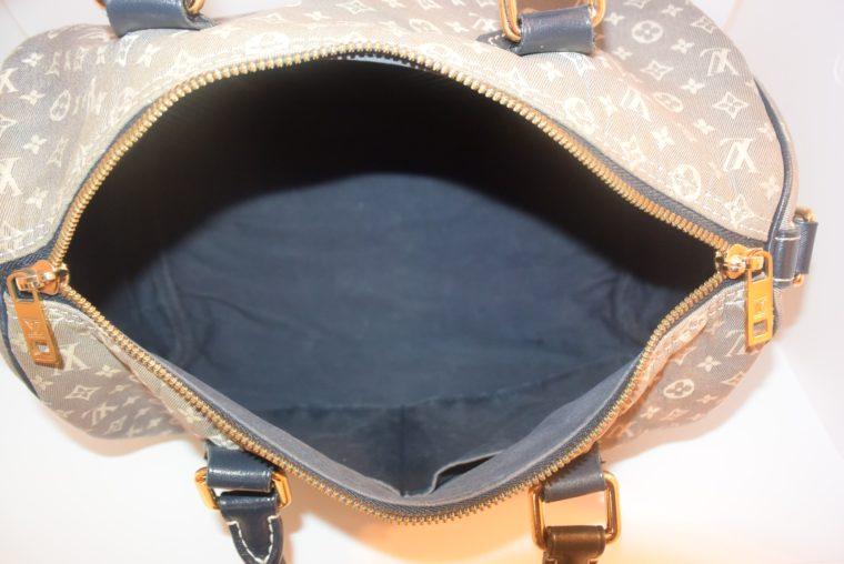 Louis Vuitton Tasche Speedy 30 Idylle blau-12378