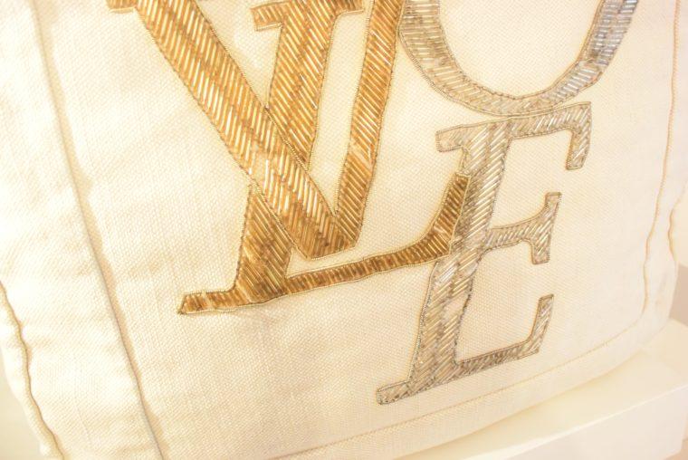 Louis Vuitton Tasche weiß Love-12756