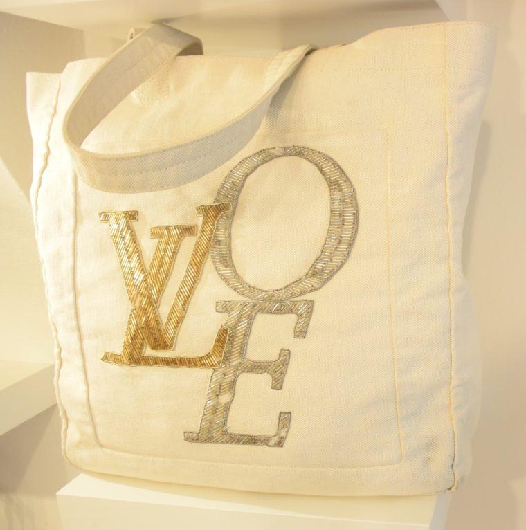 Louis Vuitton Tasche weiß Love-0