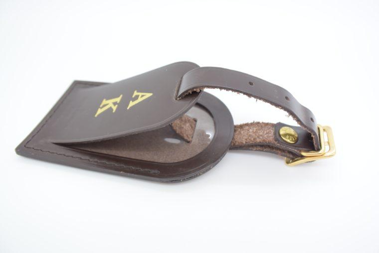 Louis Vuitton Adressanhänger braun A K-12909