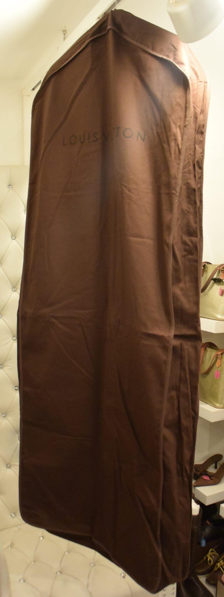 Louis Vuitton Kleiderhülle Kleidersack groß braun-12980