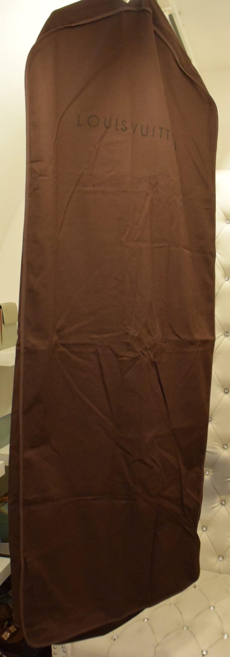 Louis Vuitton Kleiderhülle Kleidersack groß braun-12978