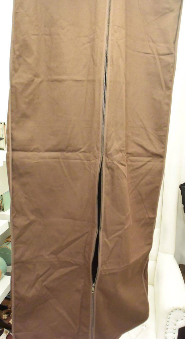 Louis Vuitton Kleiderhülle Kleidersack groß braun-12984