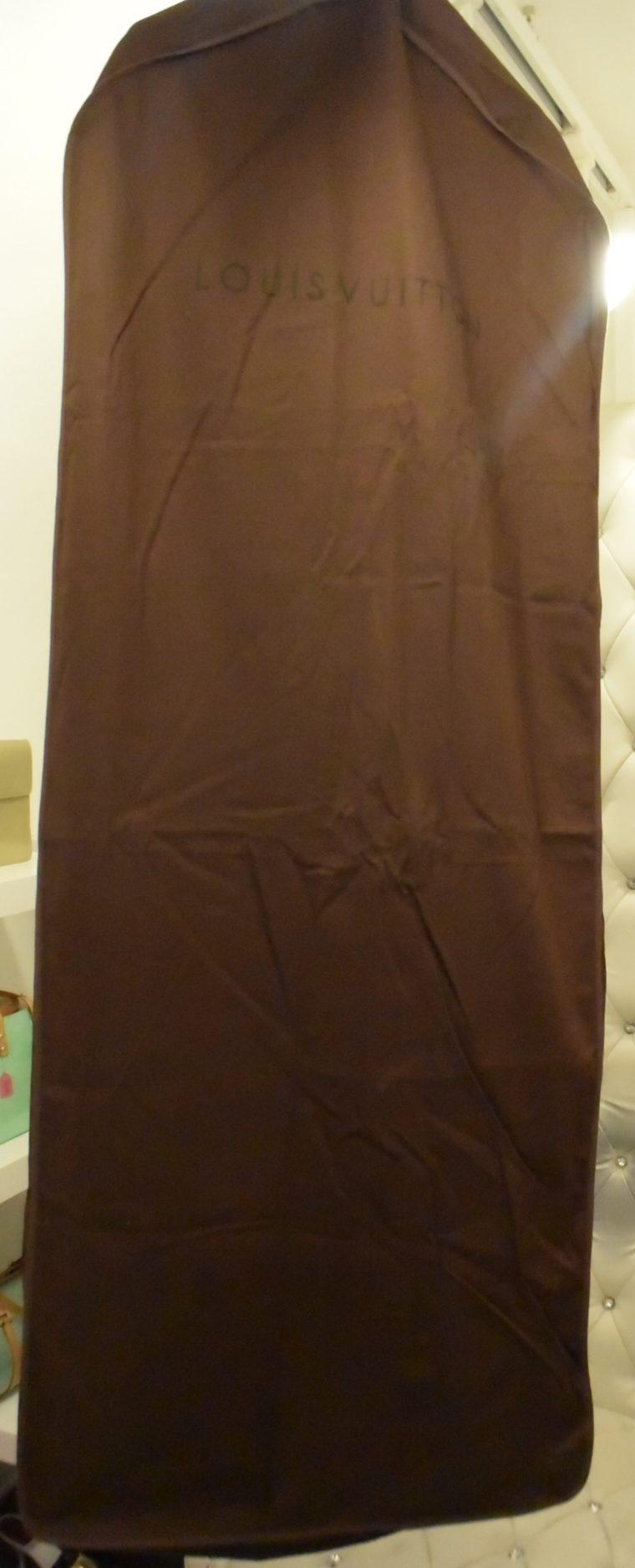 Louis Vuitton Kleiderhülle Kleidersack groß braun-12986