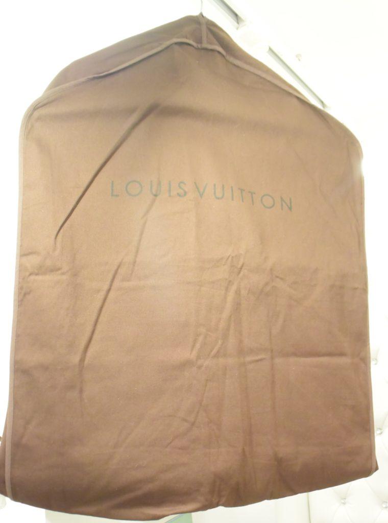 Louis Vuitton Kleiderhülle Kleidersack groß braun-12987