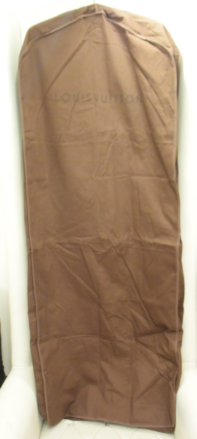 Louis Vuitton Kleiderhülle Kleidersack groß braun-0
