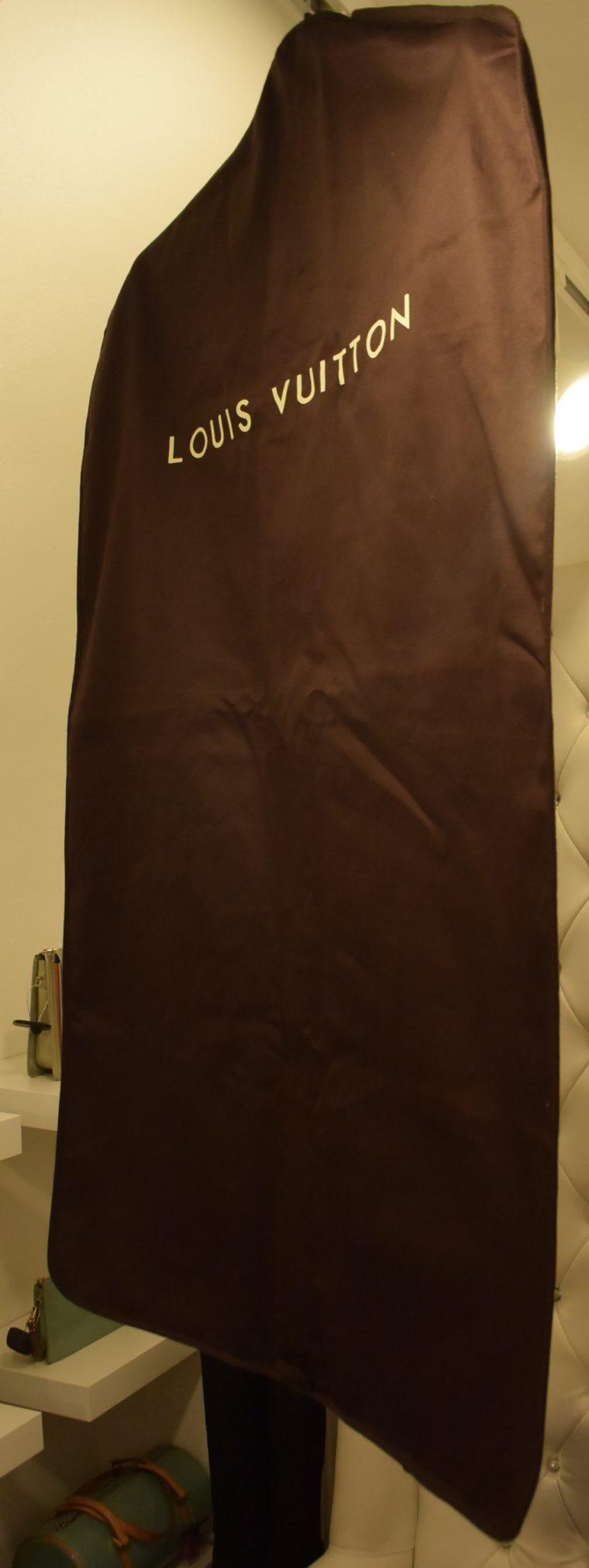 Louis Vuitton Kleiderhülle Kleidersack braun-12990