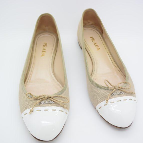Prada Ballerinas beige 36