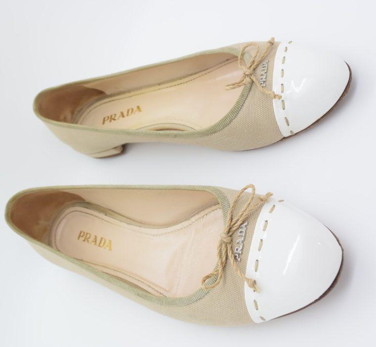 Prada Ballerinas beige 36-13107