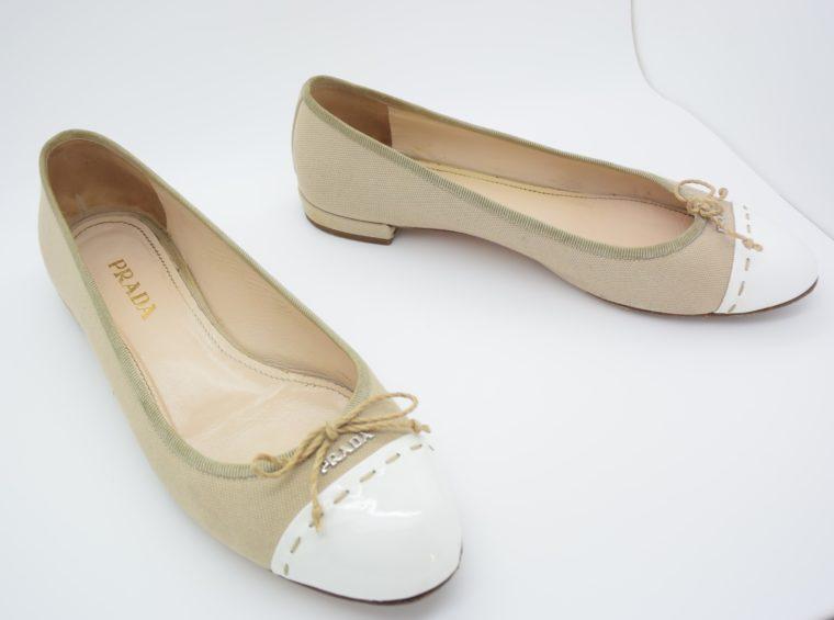 Prada Ballerinas beige 36-13108