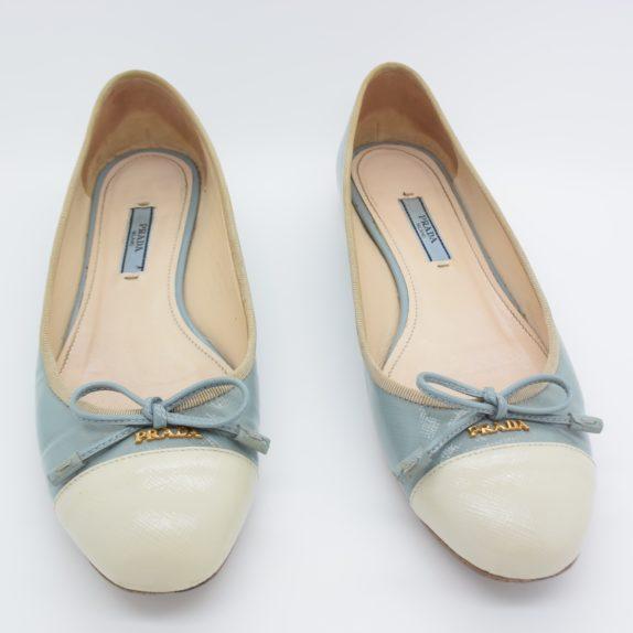 Prada Ballerinas blau 37