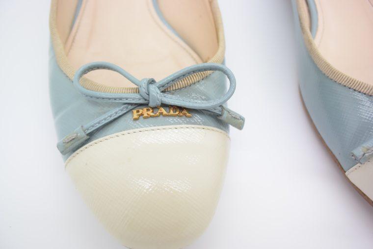 Prada Ballerinas blau 37-13098