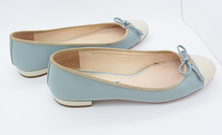 Prada Ballerinas blau 37-13100