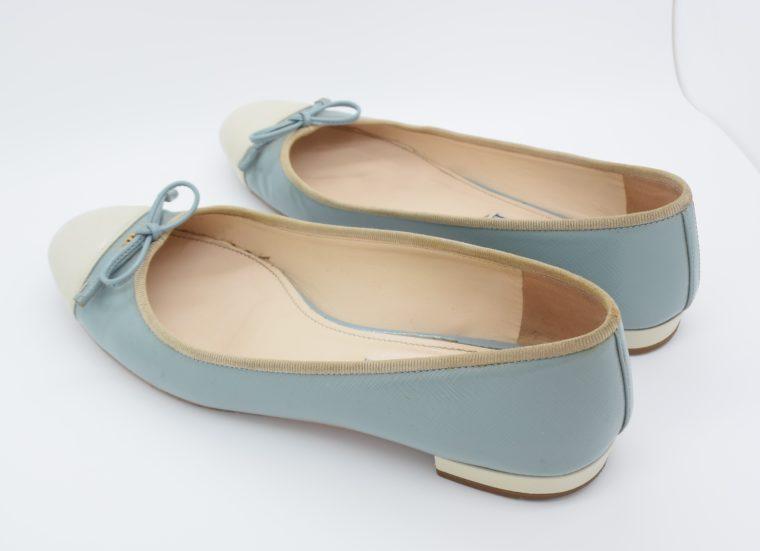 Prada Ballerinas blau 37-13103