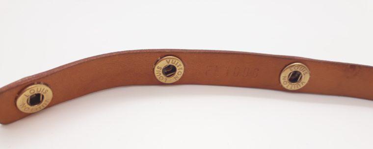 Louis Vuitton Gürtel VVN Leder -13366